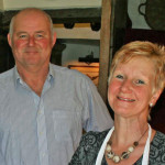 Your hosts Antony and Jackie look forward to welcoming you to Huxtable Farm B&B, West Buckland, Barnstaple, Devon.