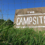 Campsite at Huxtable Farm B&B, West Buckland, Barnstaple, Filleigh, Devon