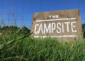 Campsite at Huxtable Farm B&B, West Buckland, Barnstaple, Filleigh, Devon
