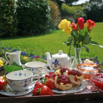 Devon-Cream-Tea-welcome on arrival