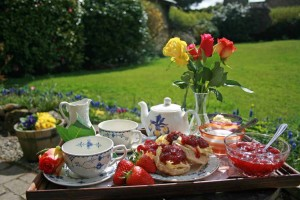Devon Cream Tea welcome