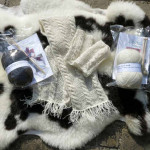 Huxtable Farm Jacob wool knitting kits