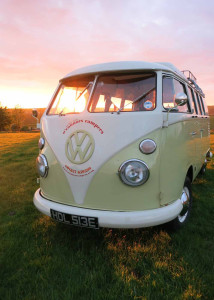 """On O'Connors VW Campervan hire list of places to camp"""