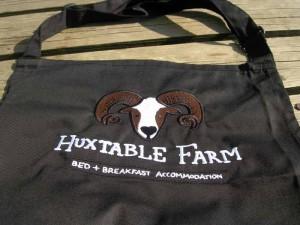 Huxtable Farm B&B Apron