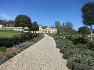Castle Hill Gardens, Filleigh, only 3 miles from Huxtable Farm, Devon