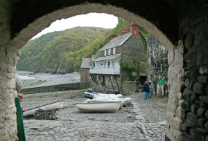 Clovelly Harbour, Devon