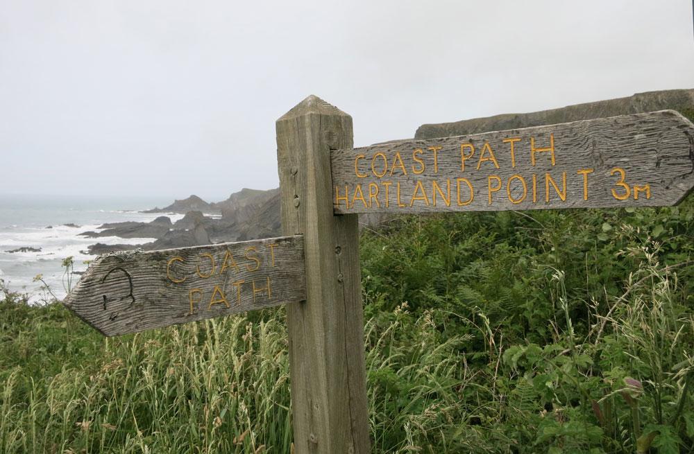 Hartland Quay Coast Path
