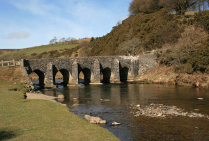 Landacre Bridge, Exmoor