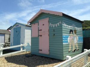 Westward Ho! beach huts