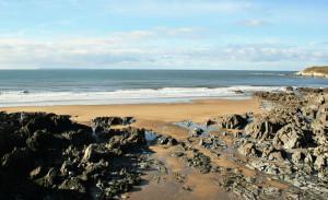 Barricane beach Woolacombe