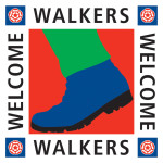 Walkers Welcome Visit Britain Award logo