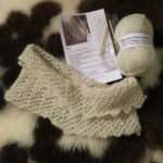 Jacob wool lace cowl knitting Kit