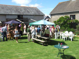 Party Celebration at Huxtable Farm B&B