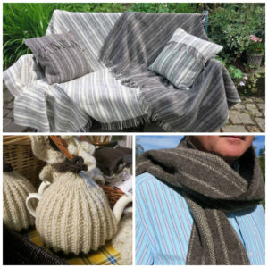 Huxtable Farm Jacob wool products - Christmas gifts