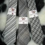 British Jacob sheep wool neck tie