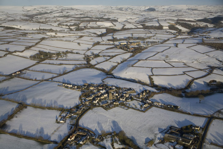 West Buckland in the Snow