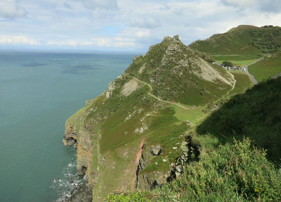 Valley of the Rocks near Lynton and Lynmouth
