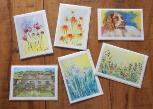 Huxtable Farm B&B Water Colour Cards