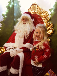 Santa at St Johns Garden Centre Barnstaple