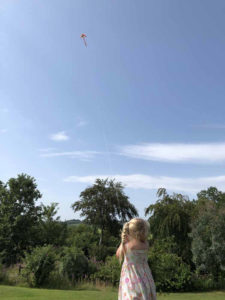 Fly a kite as high as you can!