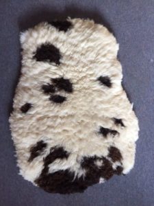 Felted Jacob sheepskin 99 X 73cms