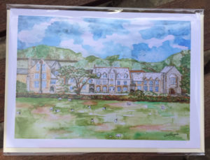 Card of West Buckland School