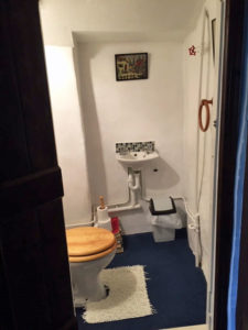 Access to toilet in Blue bedroom