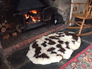 Felted Jacob rug 127x85cms £270