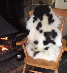 Jacob sheepskin rug 92x61cm £99