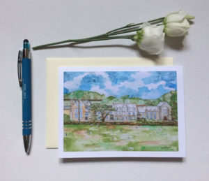 West Buckland School Card £2.50 each or 5 for £10