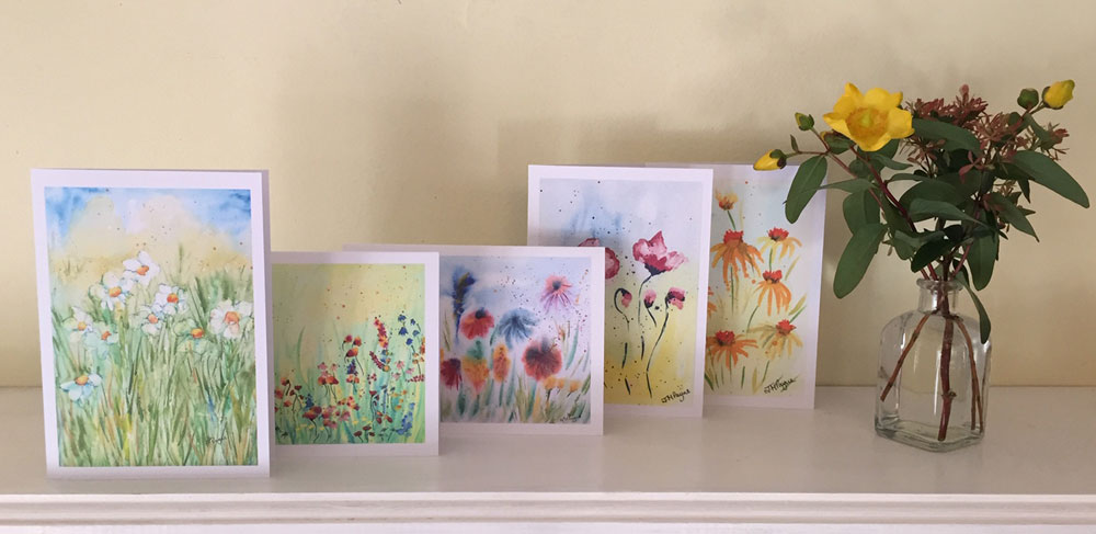 Set of 5 cards of your choice £10